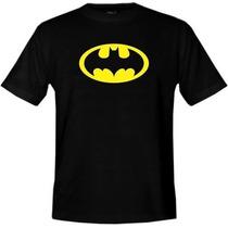 Camiseta Batman Super Homem Superman Simpsons Red Hot Chili.