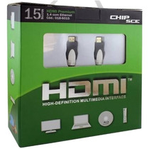 Cabo Hdmi 15 Mts Versão 1.4 3d 10gb/s Led Lcd High Speedy
