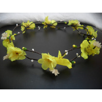 Guirlanda/coroa De Flores Ou Headband