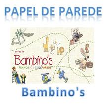 Papel De Parede Bambinos Bambino Lançamento Bobinex
