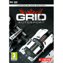 Jogo Novo Lacrado Grid Autosport Limited Black Edition Pc