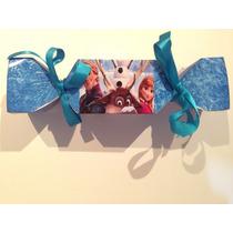 Caixa Bala Frozen Kit 20 Un. Papel Fotografico