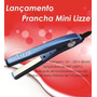 Mini Prancha Chapinha Nano Titanium Lizze 1/2 Bivolt 390ºgra