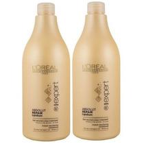 Loreal Absolut Repair Lipidium Shampoo+ Condicionador 1500ml