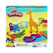 Conjunto De Massinhas Play-doh - Safári Maluco - Hasbro