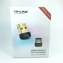 Adaptador Wireless Wifi Nano Usb Tp-link Tl-wn725n B/g/n