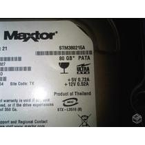 Hd80gb - Ide - Maxtor
