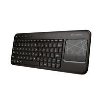 Teclado Sem Fio Logitech K400 C/ Touchpad E Nano Receptor