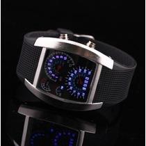 Relógio Led Digital Modelo Militar-importado- Frete Grátis