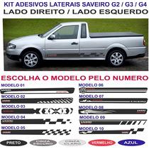 Acessorios Kit Adesivo Vw Saveiro Bola G2 G3 G4 Sport