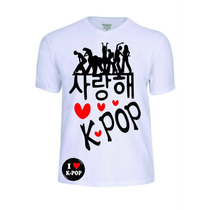 Camisas Camisetas Kpop K Pop Punk Reggae Rap Rock Jaz Pop