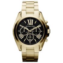 Relógio Michael Kors Mk5739 - Dourado Preto - Lançamento