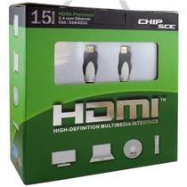 Cabo Hdmi 15 Metros Versão 1.4 3d 10gb/s High Speedy