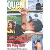 Quem 722: Neymar / Bianca Muller / Ensaio Com Bianca Rinaldi