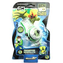 Relógio Ben 10 Omnitrix Illuminator Brinquedo Bandai Morph