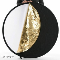 Rebatedor Circular Fotográfico 5x1 110cm Nf E Garantia