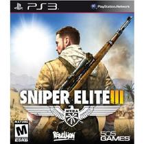 Sniper Elite 3 - Código Psn - Ps3 - Legendas Em Português
