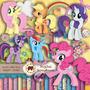 Kit Scrapbook Digital - My Little Pony (pequeno Pônei)