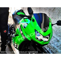 Bolha Esportiva Racing Fumê Kawasaki Ninja 250r Frete Gratis