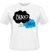 Camisa Okay Camiseta A Culpa É Das Estrelas Ok Jonh Cancer
