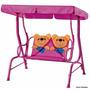Cadeira De Balanço Infantil Banco Namoradeira Jardim Ursinho