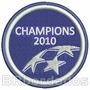 Tpc091 Uefa Champions 2010 Milan Liga Patch Bordado 7,5cm