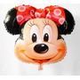 Balão Mentalizado , Minnie Laço Vermelho((pacote 20 Balões))