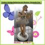 Linda Bailarina Em Resina - Peça Antiga - Tocando Lira