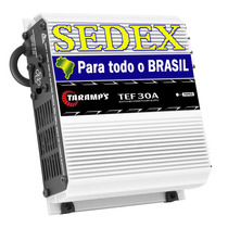 Fonte Automotiva Taramps 30 Ampers Tef-30 Bi-volt + Sedex