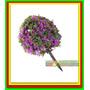 A21- 10 Unidades Arvore Orbicular Violeta 3,8cm Ho 1:87