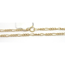 Joalheriavip 45cm Corrente Cordão Grumet Ouro 18k