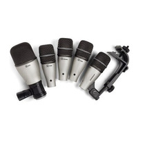 Microfone Com Fio Samson Dk5 P/bateria Kit 5pcs 6493