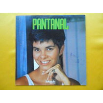 Lp Trilha Sonora Novela P/1990- Pantanal- Nacional