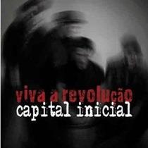 Cd Capital Inicial Viva A Revolução - Ep - 7 Músicas 2014