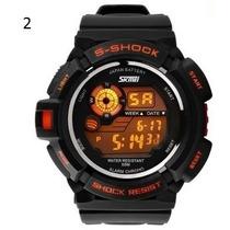 Relógio Led Digital Skmei Esportivo Importado- Frete Grátis