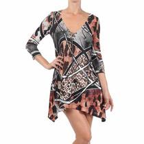 Roupas Femininas Vestido Curto Casual Festa Importado Rf4014