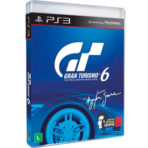 Gran Turismo 6 Ayton Senna - Ps3 Português - Frete Incluso