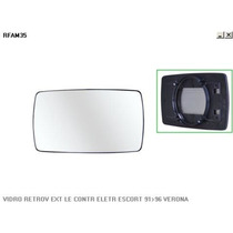 Vidro Retrovisor Esquerdo Ford Escort 91/96 - Metagal