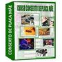 Curso De Conserto De Placa Mãe Vídeo Aula - Box 5 Dvds
