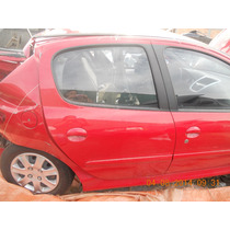 Vidro De Porta Traseiro Direito Peugeot 207 1.4 2013