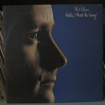 Lp Phil Collins Hello I Must Be Going Exx + Encarte