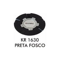 Calota Kromma Kr 1630 - Preta Aro 17 - Emblema 60mm