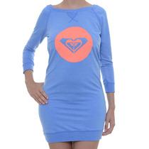 Vestido Feminino Roxy Its All Surf Azul