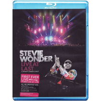 Blu Ray - Stevie Wonder : Live At Last ( Lacrado )