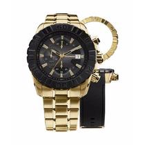 Relógio Technos Carbon Js15bd/4p Lançamento - Garantia E Nf