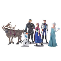 Bonecos Frozen Disney Conjunto 6 Peças - Pronta Entrega