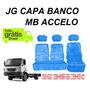 Capa Chinil Banco Caminhão Mb Accelo Para 3 Bancos Pelucia