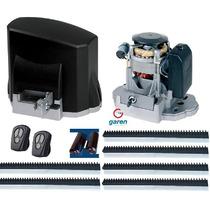 Kit Motor Deslizante Portão Eletrônico Garen Nfe C Garantia