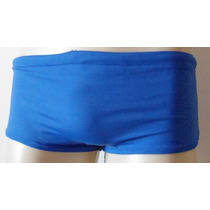 Sunga De Praia Enchimento Frontal Azul Royal Vivishop