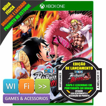 One Piece Burning Blood Xbox One + Brinde Lacrado Pt Br